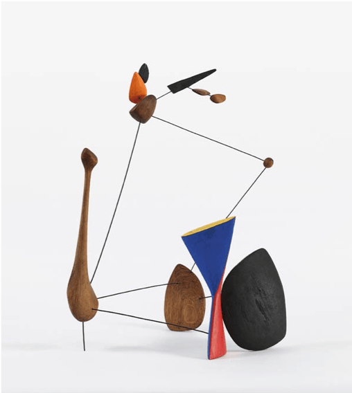 Wood composition by Alexander Calder