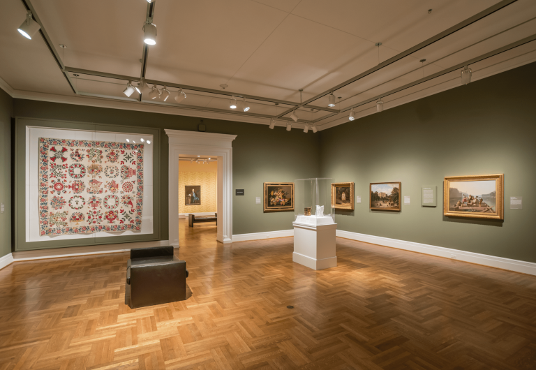 Saint Louis Art Museum's reinstalled American Galleries.