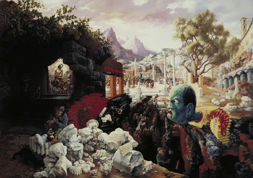 Peter Blume, The Eternal City, 1934-1937.