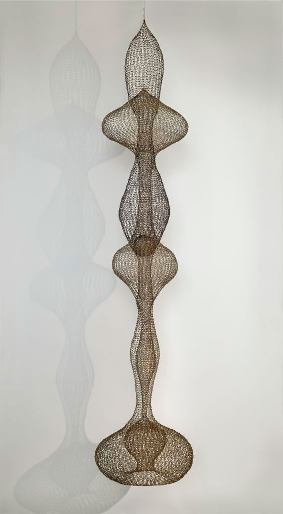 Abstract wire creation by Ruth Asawa