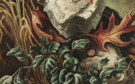 Detail of Thomas Hart Benton's work