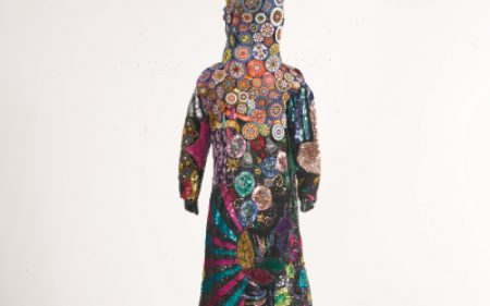 Nick Cave's life sized colorful suit